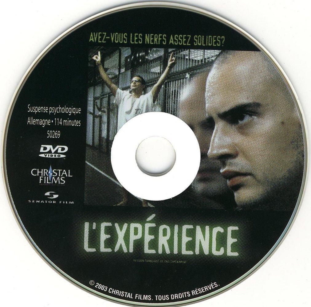 Das Experiment (2001) Oliver Hirschbiegel DasExperiment_DVDsticker