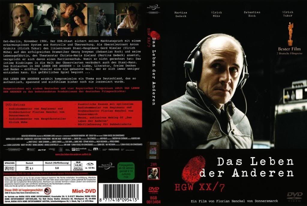 Das Leben der Anderen (2006) The Lives of Others DasLeben_DVDcover