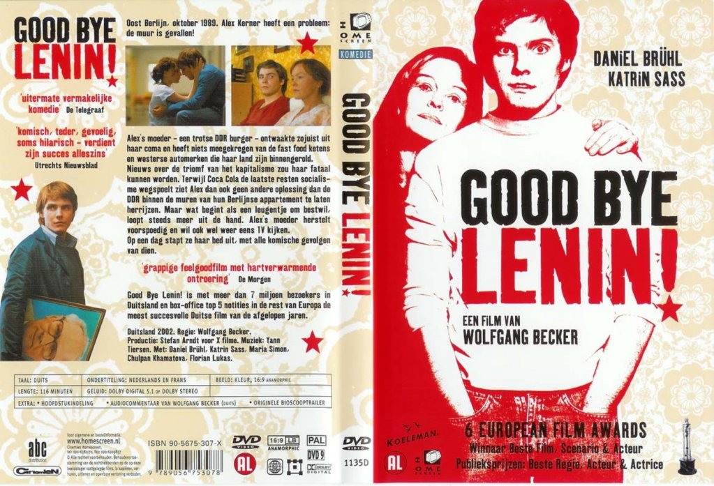 Good Bye Lenin (2003) Daniel Brühl GoodByeLeninDutchDVDcover