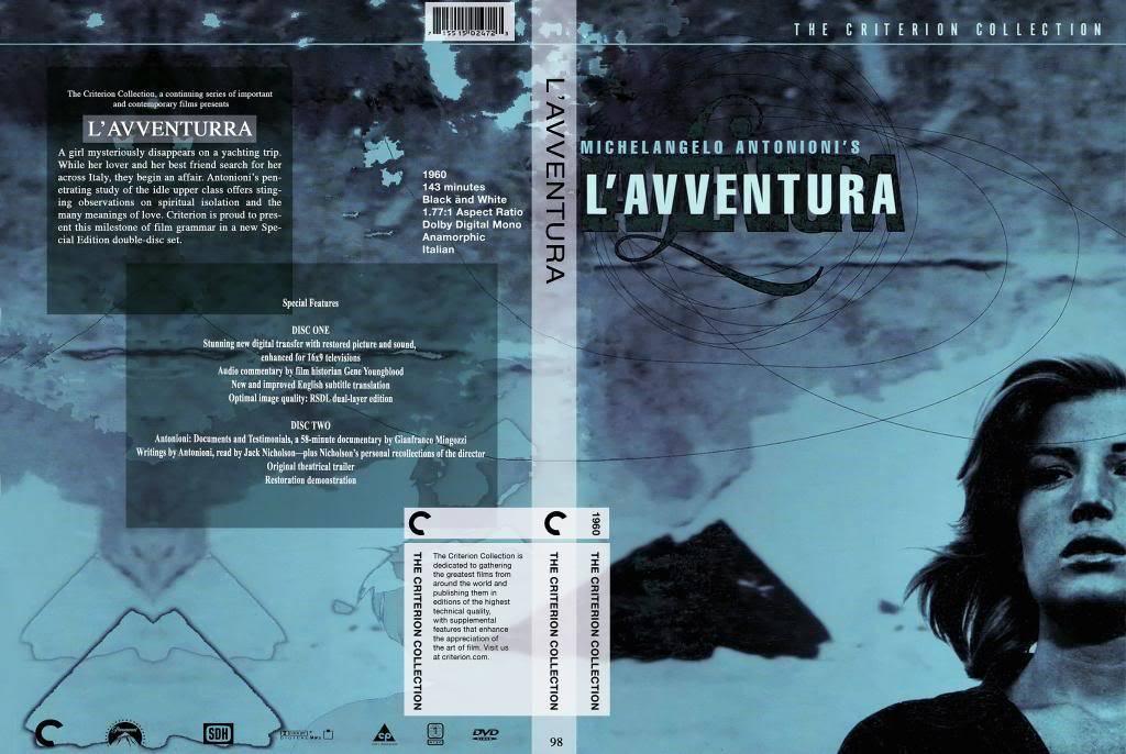 L'Avventura (a.k.a The Adventure) (1960) Michelangelo Antonioni LAvventura-DVD