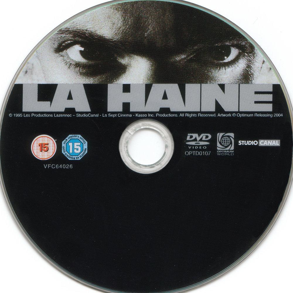 La Haine (1995) Mathieu Kassovitz LaHaine-DVDsticker