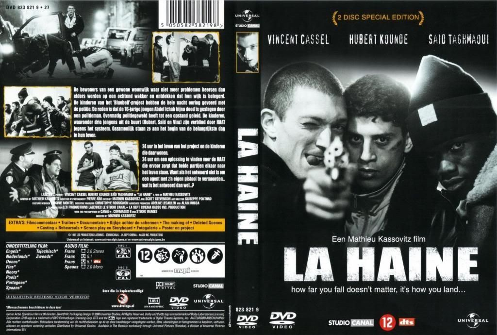 La Haine (1995) Mathieu Kassovitz LaHaine-DutchDVD