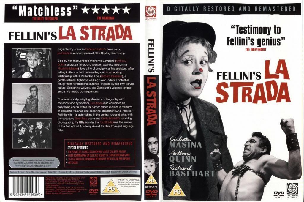 La Strada (1954) Federico Fellini LaStrada-DVDcover