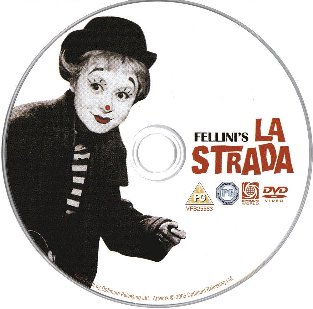 La Strada (1954) Federico Fellini LaStrada-DVDsticker