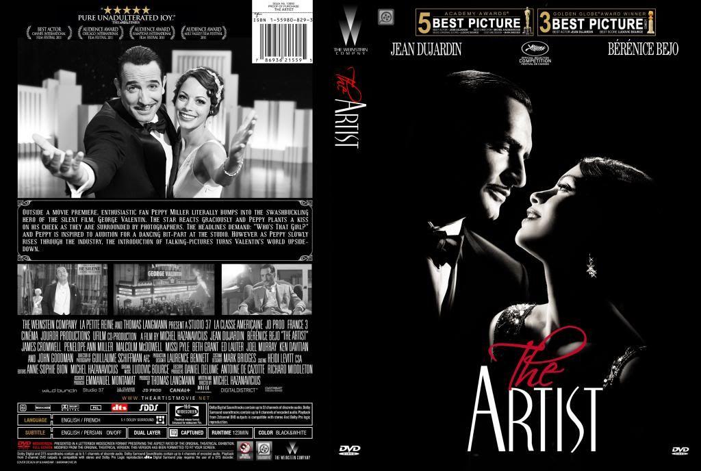 The Artist (2011) Michel Hazanavicius LeArtist-DVDcover