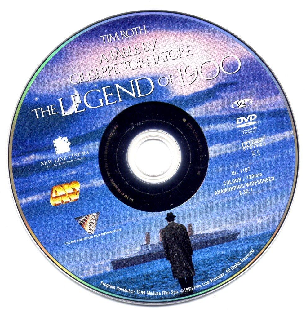 La leggenda del pianista sull'oceano (1998) Giuseppe Tornatore LegendOf1900-DVDsticker