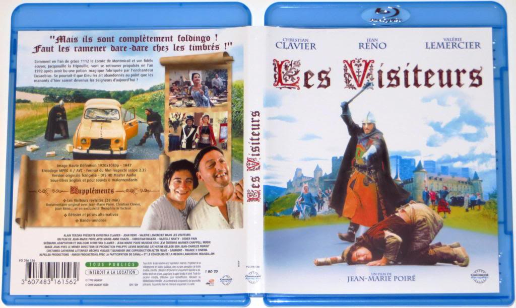 Les Visiteurs (1993) France's Top Comedy movie LesVisiteurs-BluRay