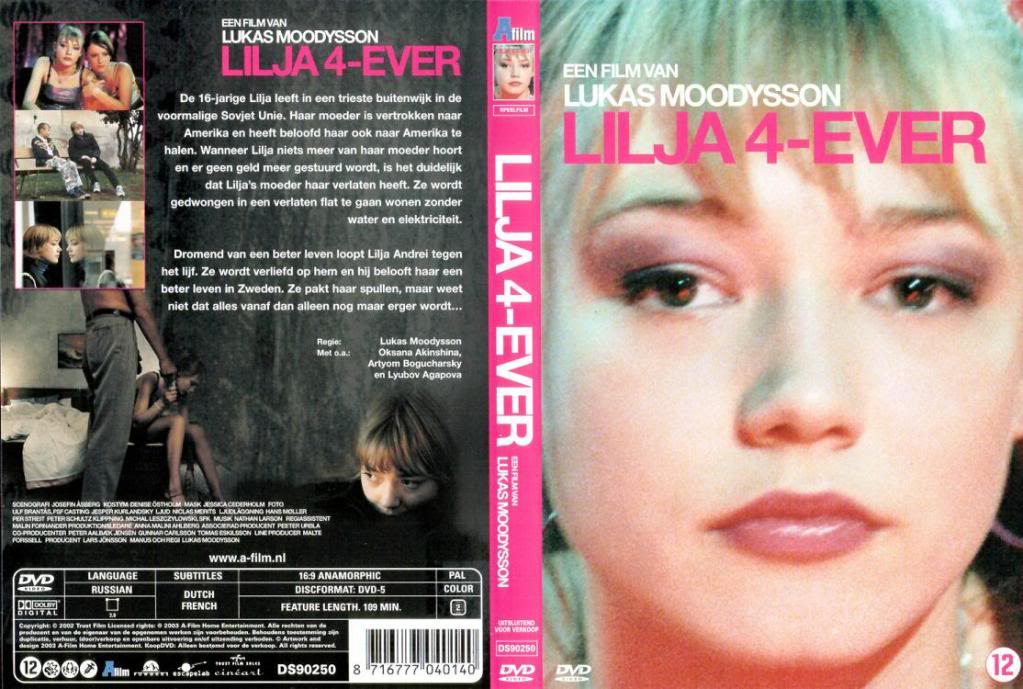 Lilja 4-Ever (Sweden, 2002) Lukas Moodysson Lilja4Ever-DutchDVD