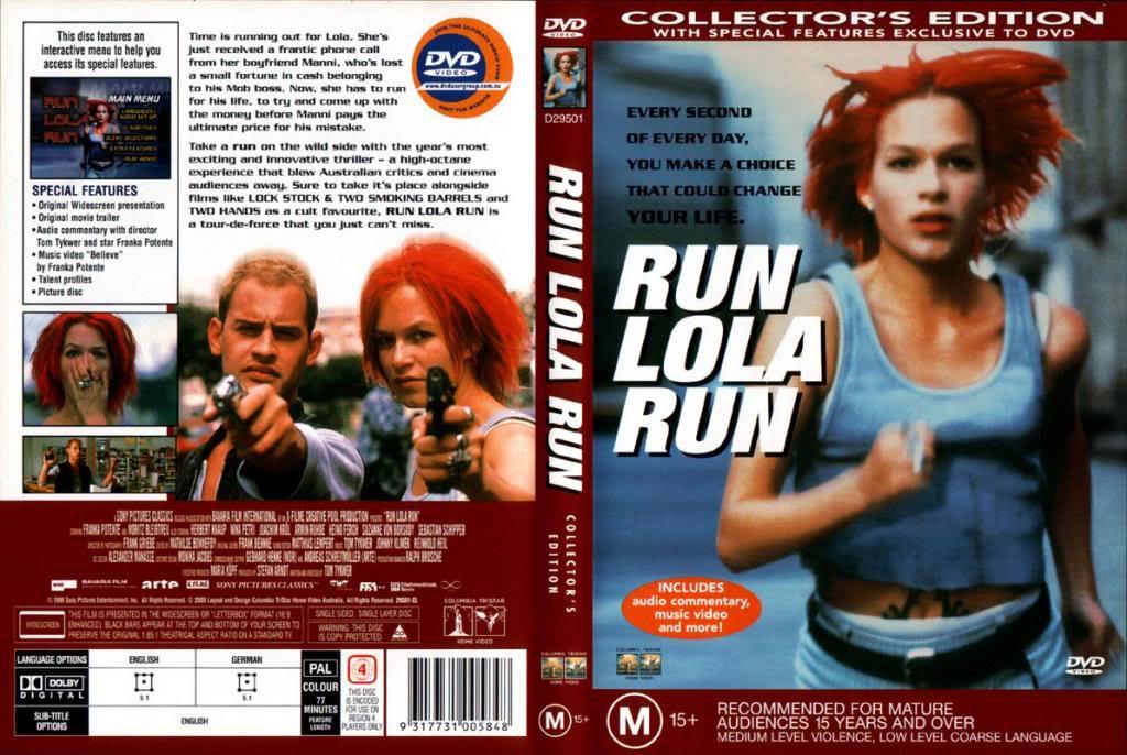Lola Rennt (1998) a.k.a Run Lola Run RunLolaRun-DVDCover