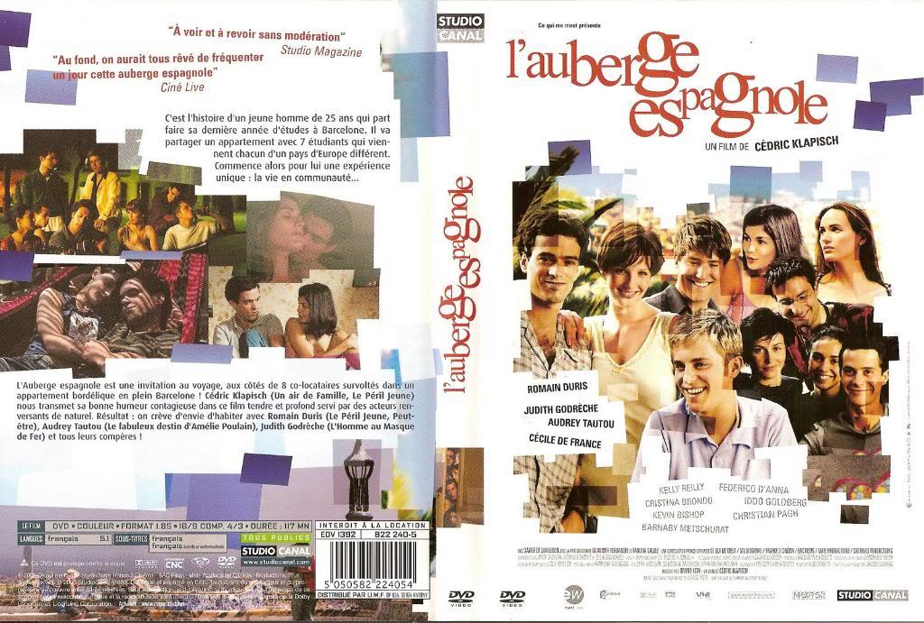 L'Auberge Espagnole (2002) Cédric Klapish SpanishApartment