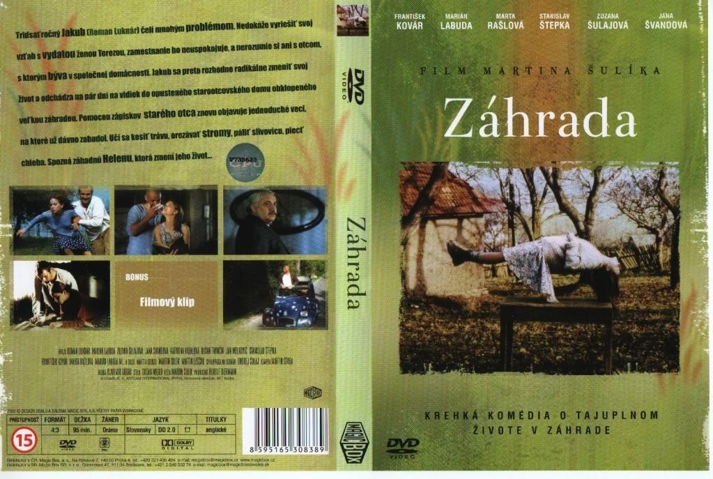 Záhrada (Slovakia, 1995) a.k.a The Garden ZahradaDVDCover