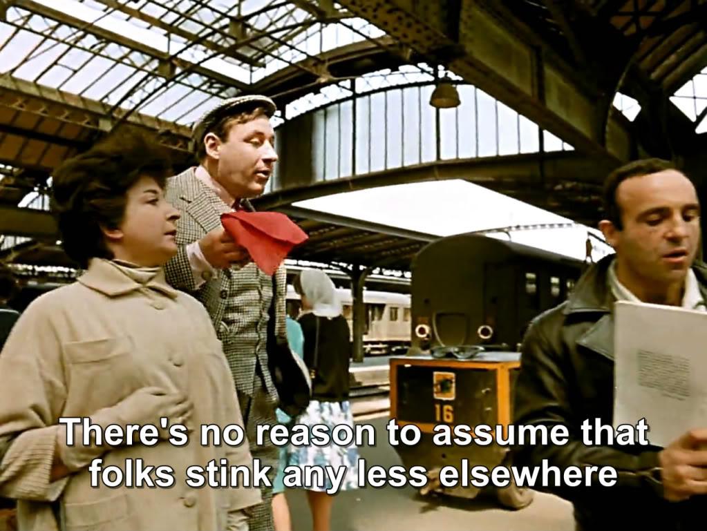 Zazie dans le métro (1960)  Louis Malle DansleMetro01
