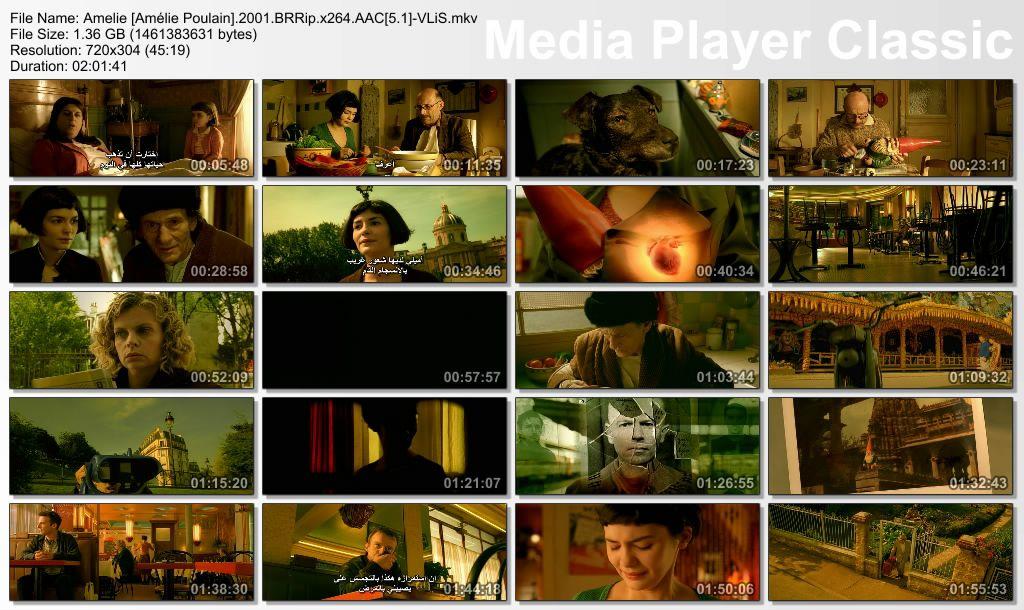 Amélie (2001) Nominated for the Oscars Thumbs-Amelie