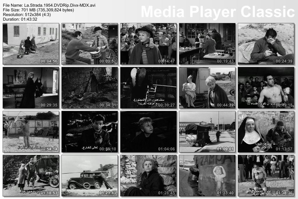 La Strada (1954) Federico Fellini Thumbs-LaStrada