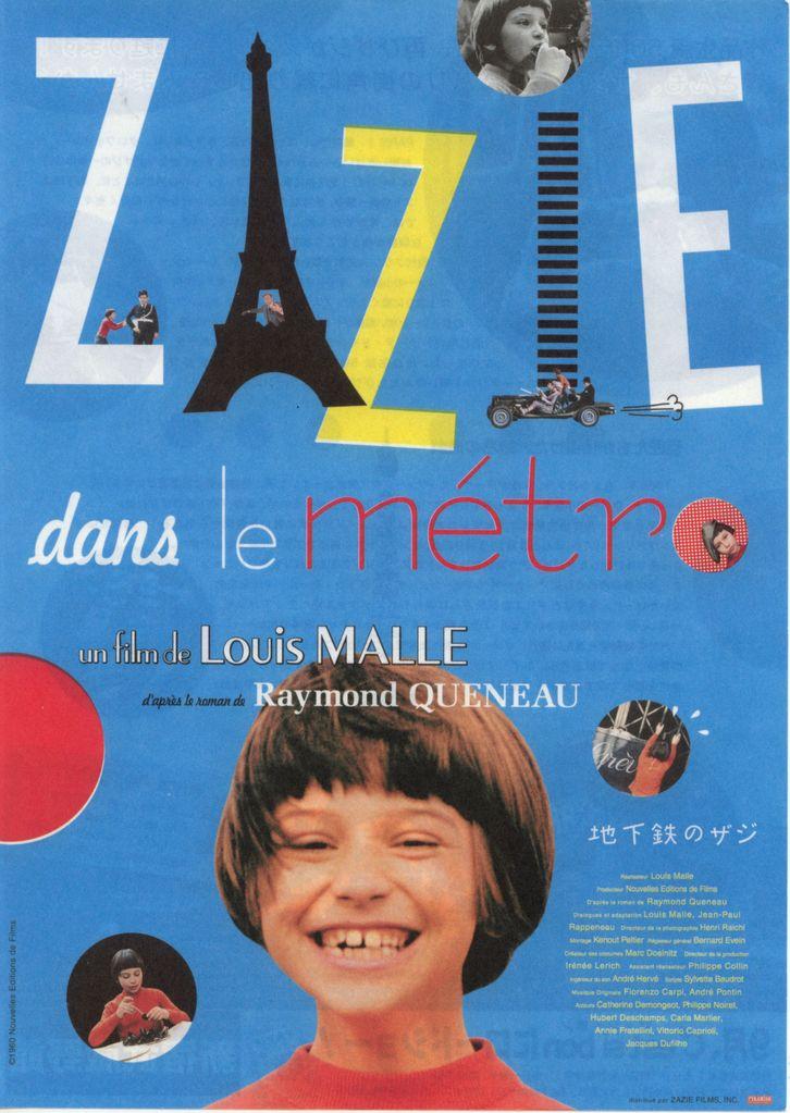 Zazie dans le métro (1960)  Louis Malle Zazie-dans-le-metro