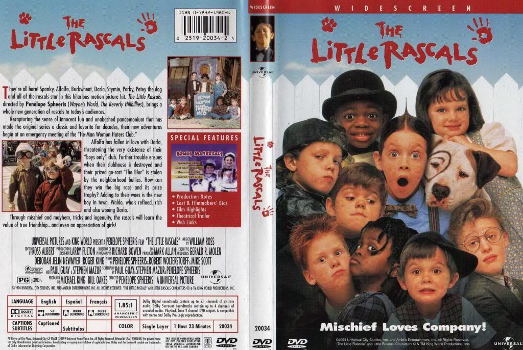 The Little Rascals [1994] lol LittleRascals-DVDcover