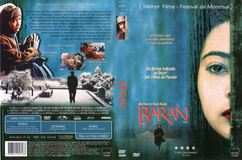 Baran (2001) [Majid Majidi] Iran BaranBrazilianDVDCover