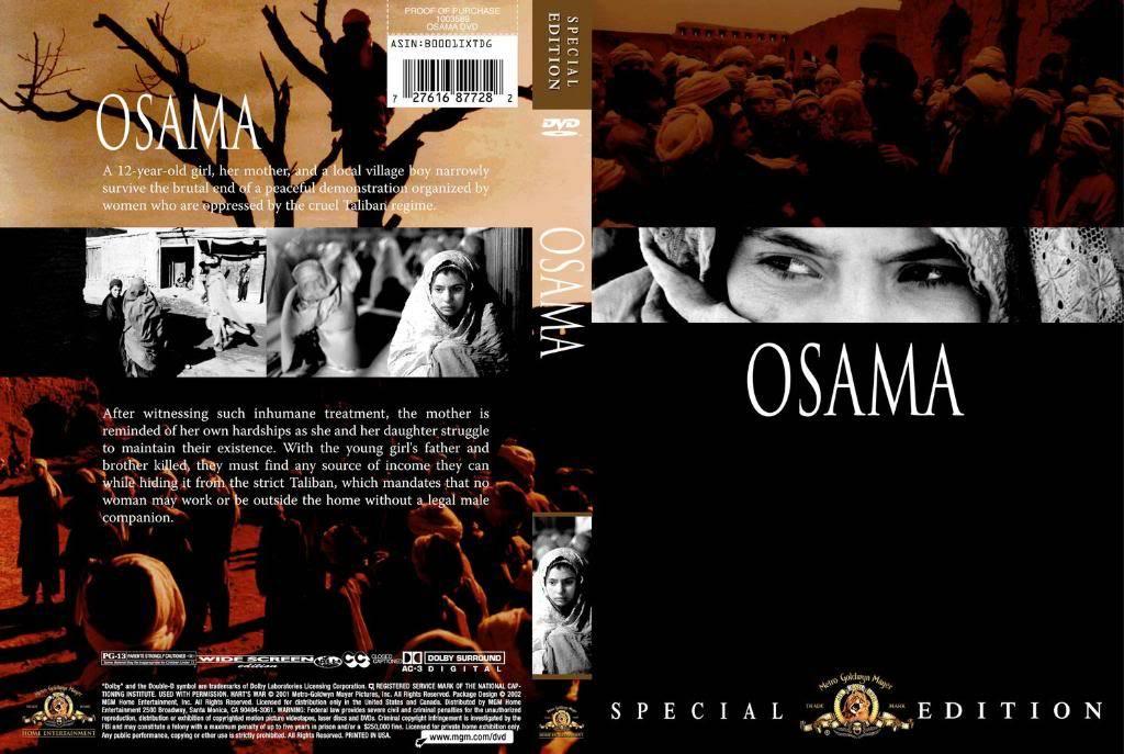 أســامة Osama Osama-DVDcover