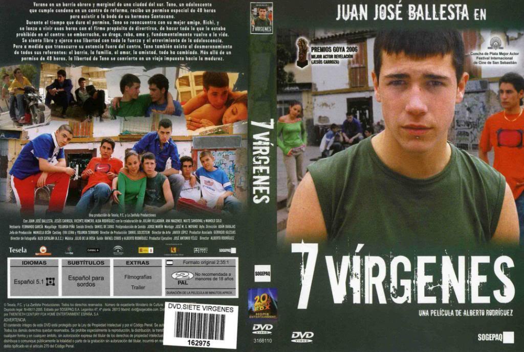 7vírgenes (España, 2005) Juan José Ballesta 7Virgenes-DVD