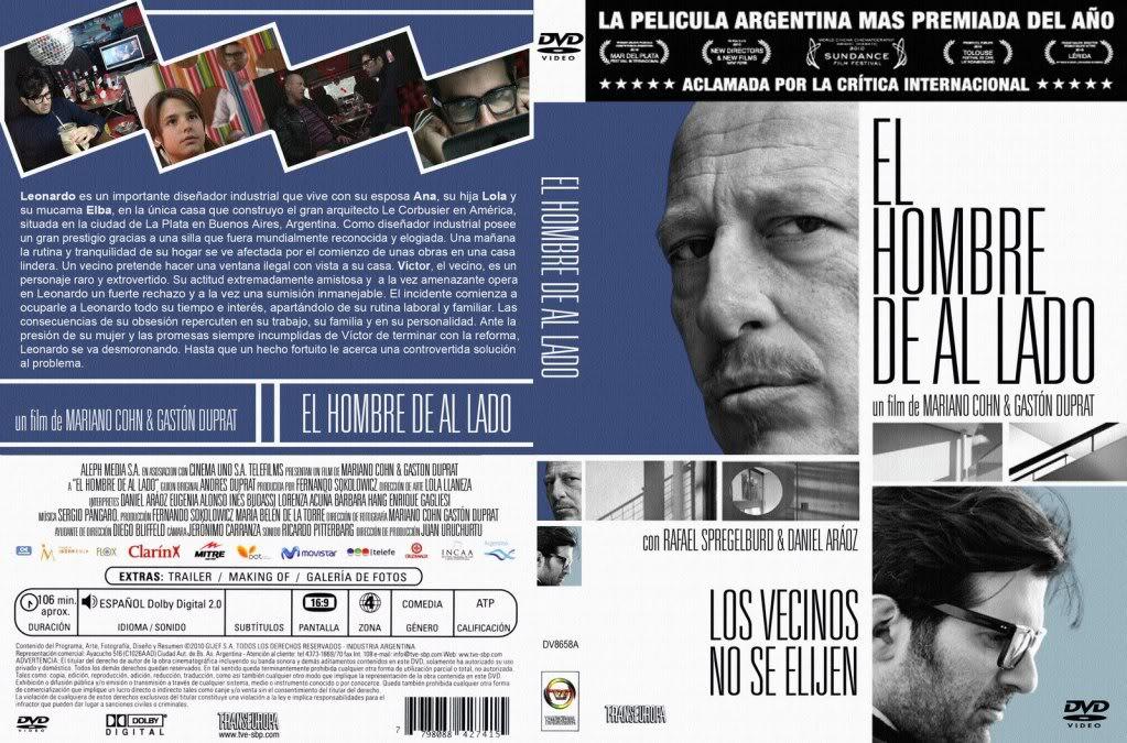 El Hombre De Al Lado (2009) nominated for the 2010 Goya Award  El-Hombre-De-Al-Lado_DVD