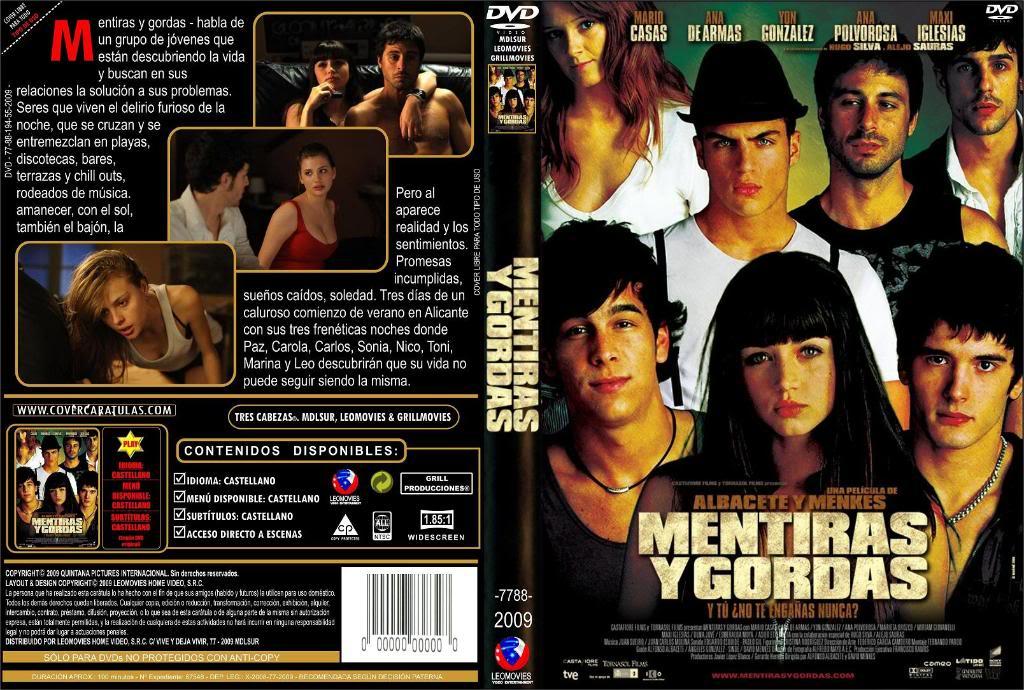 Mentiras y gordas (España, 2009) a.k.a Sex, Parties and Lies  Mentiras_Y_GordasDVDCover2009