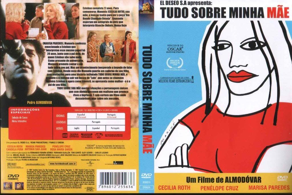 Todo sobre mi Madre (1999) a.k.a All About My Mother Todo_Sobre_Mi_Madre_BrazilianDVD