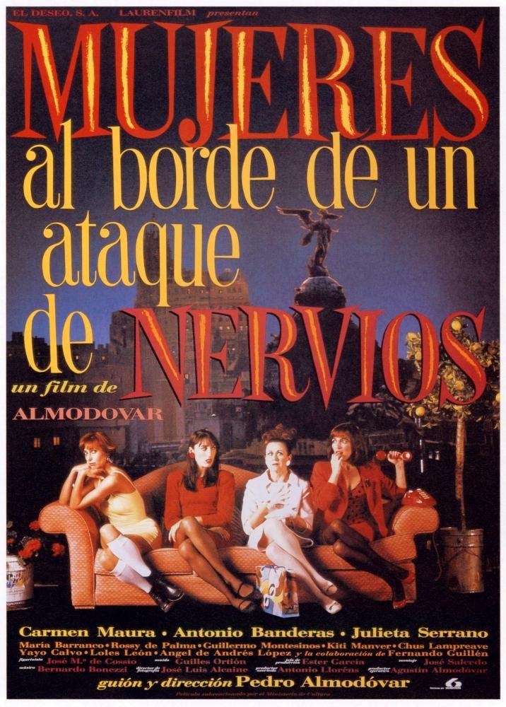 Mujeres al borde de un ataque de nervios (1988) Almodovar WomenNervousBreakdown