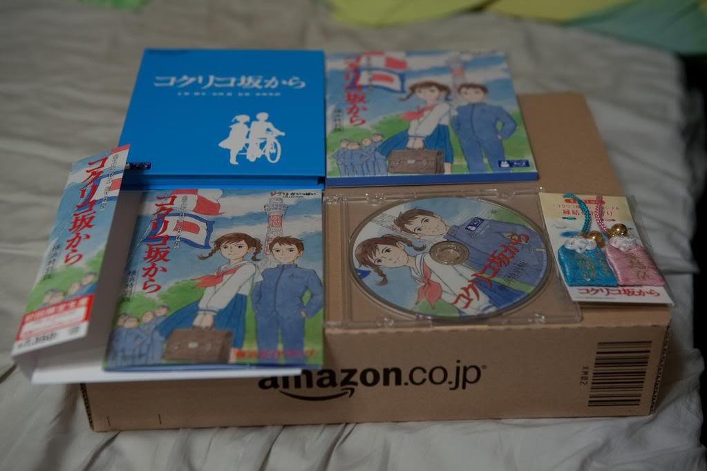 From Up On Poppy Hill (2011) Ghibli Studio DVD-Kokuriko