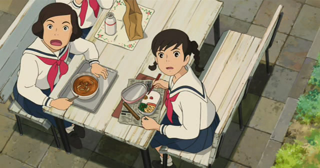 From Up On Poppy Hill (2011) Ghibli Studio Kokuriko05