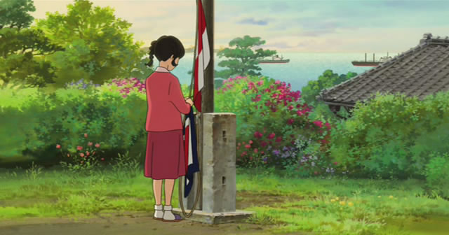 From Up On Poppy Hill (2011) Ghibli Studio Kokuriko13