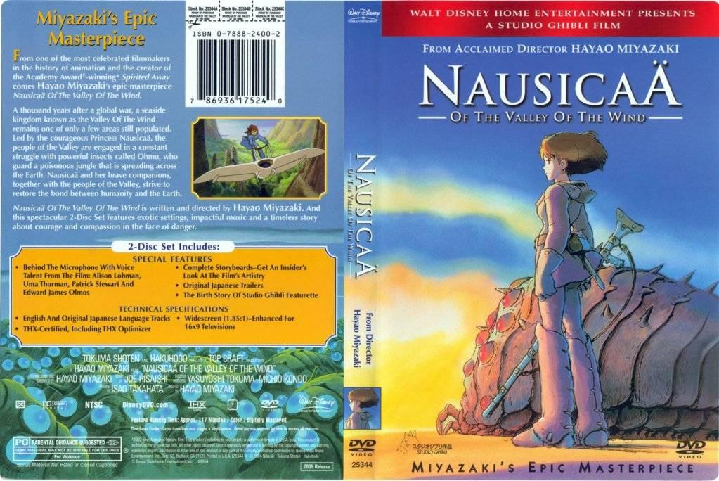 18 [isoHunt] Studio Ghibli Collection [jap-eng audio] eng-sub [Mkv] Nausicaa-DVDcover