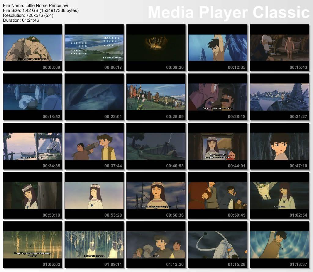 Little Norse Prince 1968 (PreStudio Ghibli) Japanese audio,English subs Thumbs-NorsePrince