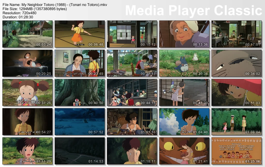 18 [isoHunt] Studio Ghibli Collection [jap-eng audio] eng-sub [Mkv] Thumbs-Totoro