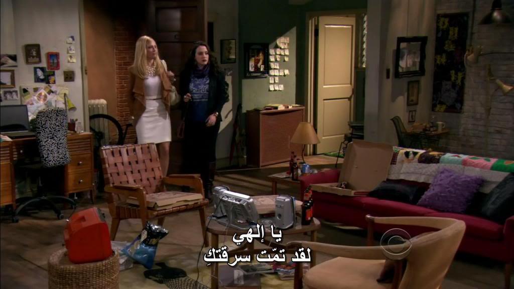 Two Broke Girls (Season 01) HDTV 720p + Arabic Subtitles 2BGlsS01E01-10