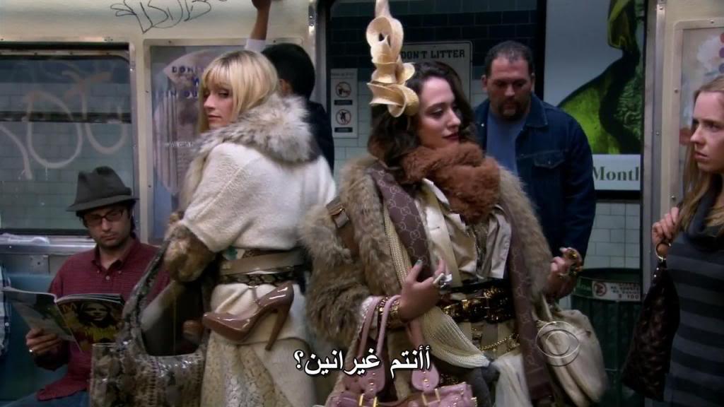 Two Broke Girls (Season 01) HDTV 720p + Arabic Subtitles 2BGlsS01E01-39