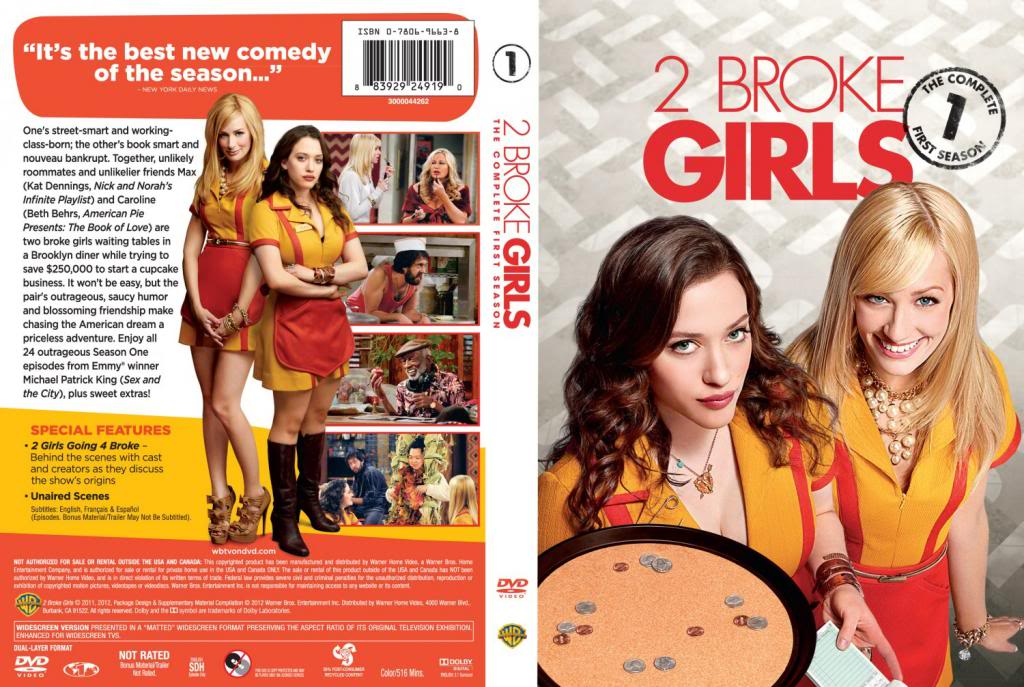 Two Broke Girls (Season 01) HDTV 720p + Arabic Subtitles 2BrokeGirls-S01-DVDcover