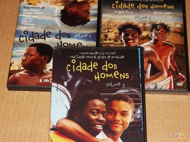 Cidade dos Homens (2002-2005) TVSeries - Full 4 Seasons - Brazil CIDADE-DOS-HOMENS-A-SERIE-COMPLETA-DVD