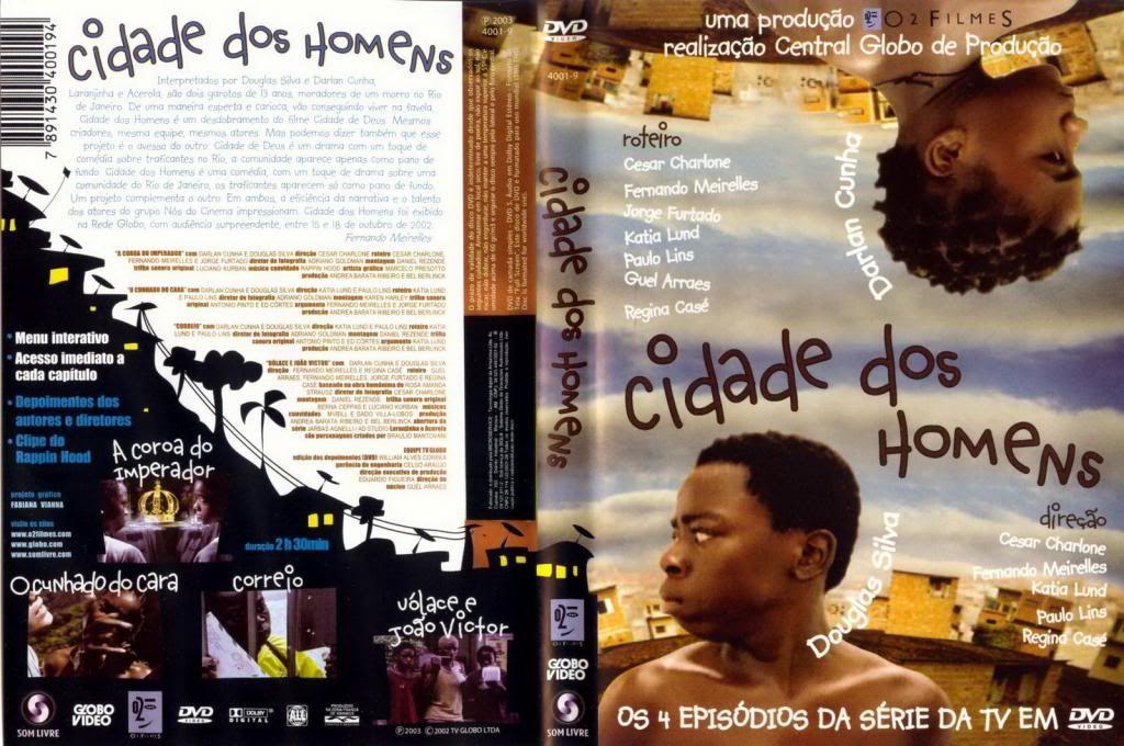 Cidade dos Homens (2002-2005) TVSeries - Full 4 Seasons - Brazil CidadeDosHomens01-DVD