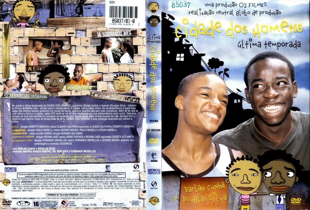 Cidade dos Homens (2002-2005) TVSeries - Full 4 Seasons - Brazil CidadeDosHomens02-DVD