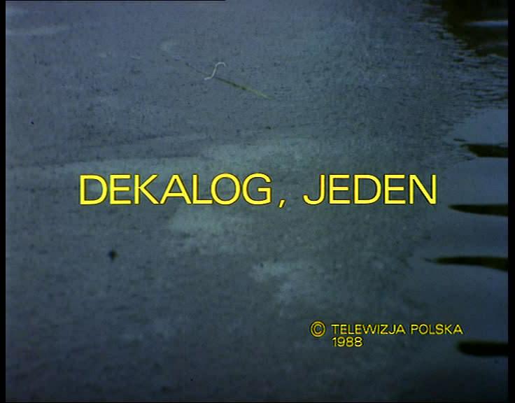 Dekalog (1988-1990) Krzysztof Kieslowski  Dekalog01