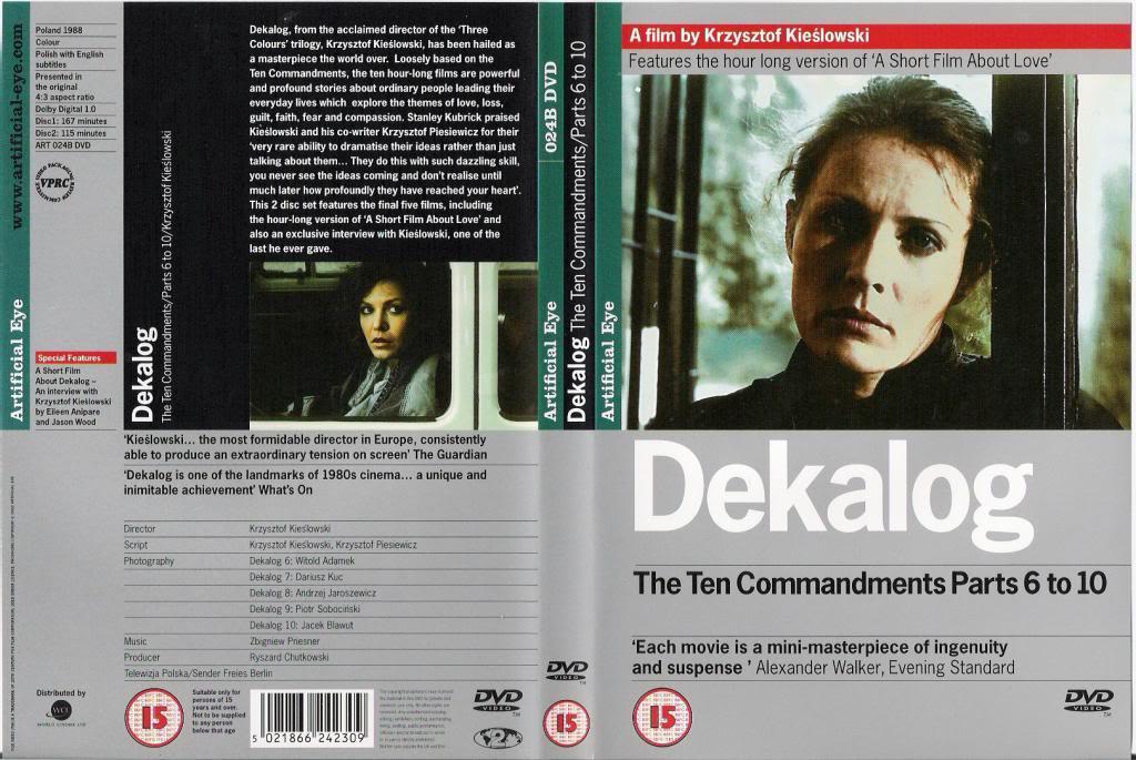 Dekalog (1988-1990) Krzysztof Kieslowski  DekalogDVD2Episodes6-10