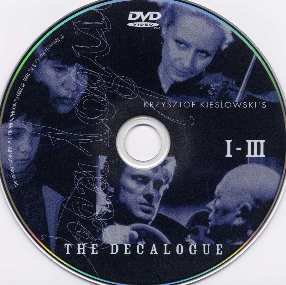 Dekalog (1988-1990) Krzysztof Kieslowski  DekalogDVDsticker