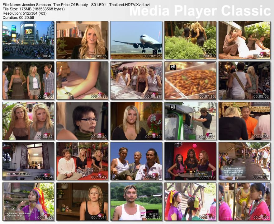 VH1 - Jessica Simpson, The Price of Beauty S1-Epi1-Thailand