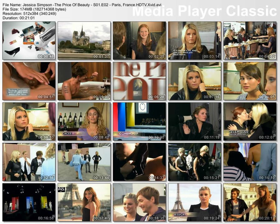 VH1 - Jessica Simpson, The Price of Beauty S1-Epi2-France