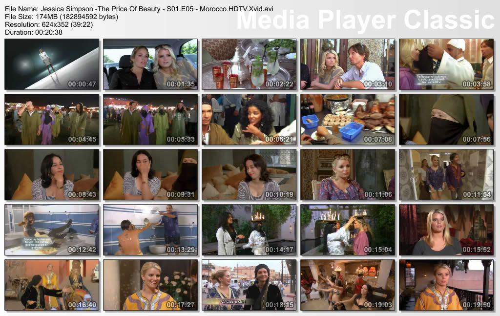 VH1 - Jessica Simpson, The Price of Beauty S1-Epi5-Morocco