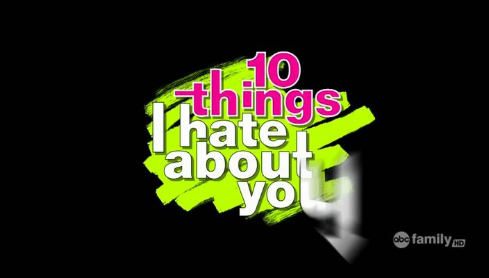 Ten Things I Hate About You - Season 01 ThingsIHate-Logo
