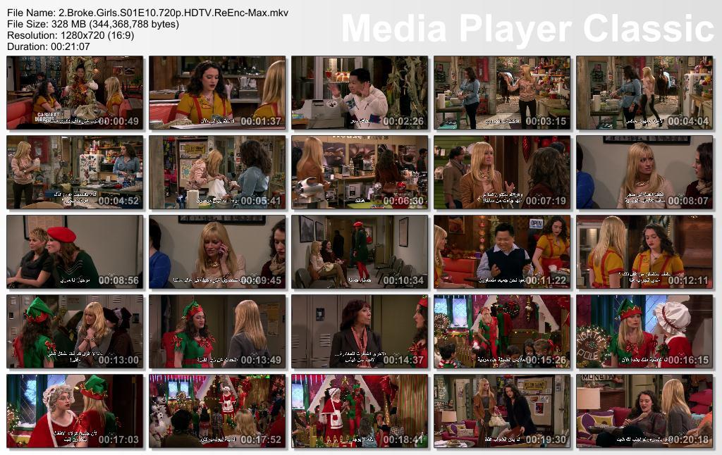Two Broke Girls (Season 01) HDTV 720p + Arabic Subtitles Thumbs-BrokeGirlsS01E10