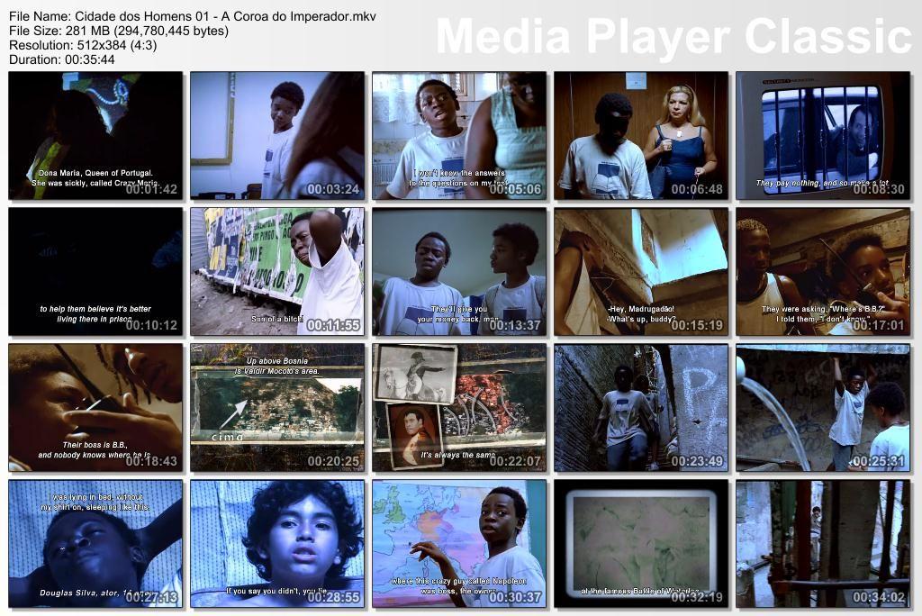 Cidade dos Homens (2002-2005) TVSeries - Full 4 Seasons - Brazil Thumbs-Cidade01
