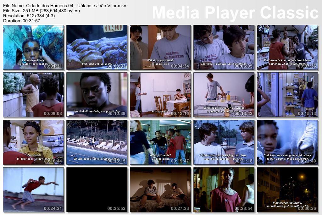 Cidade dos Homens (2002-2005) TVSeries - Full 4 Seasons - Brazil Thumbs-Cidade04