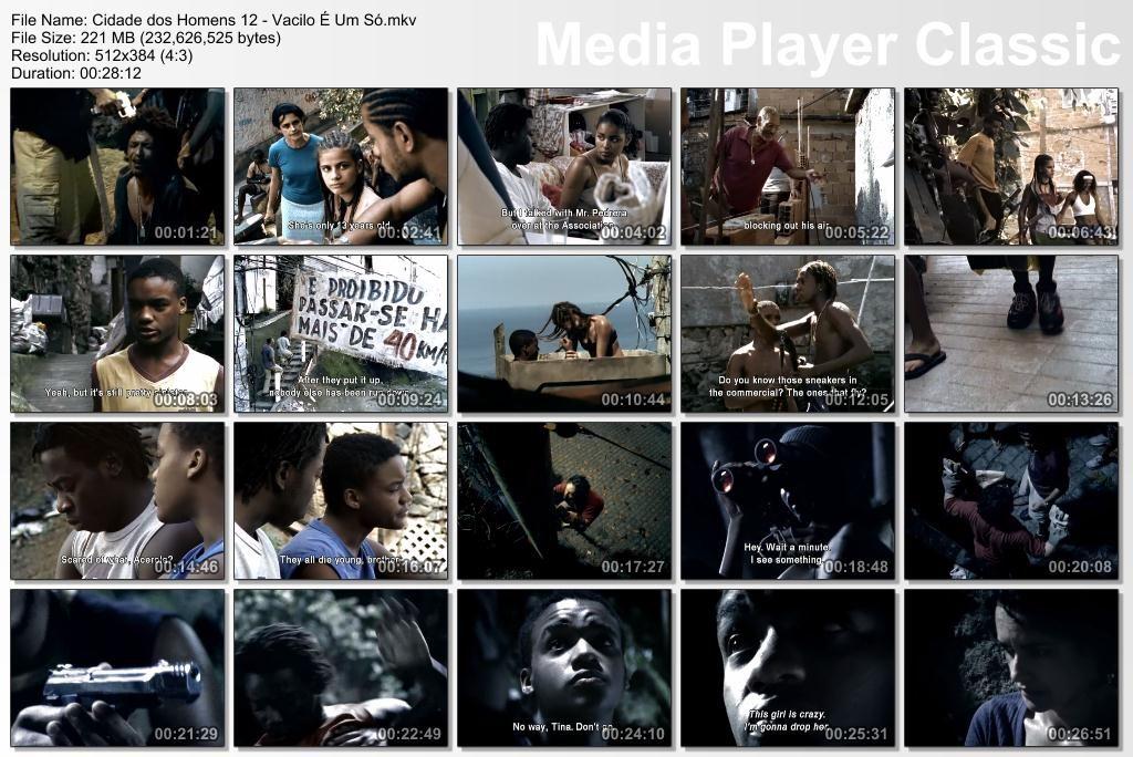 Cidade dos Homens (2002-2005) TVSeries - Full 4 Seasons - Brazil Thumbs-Cidade12